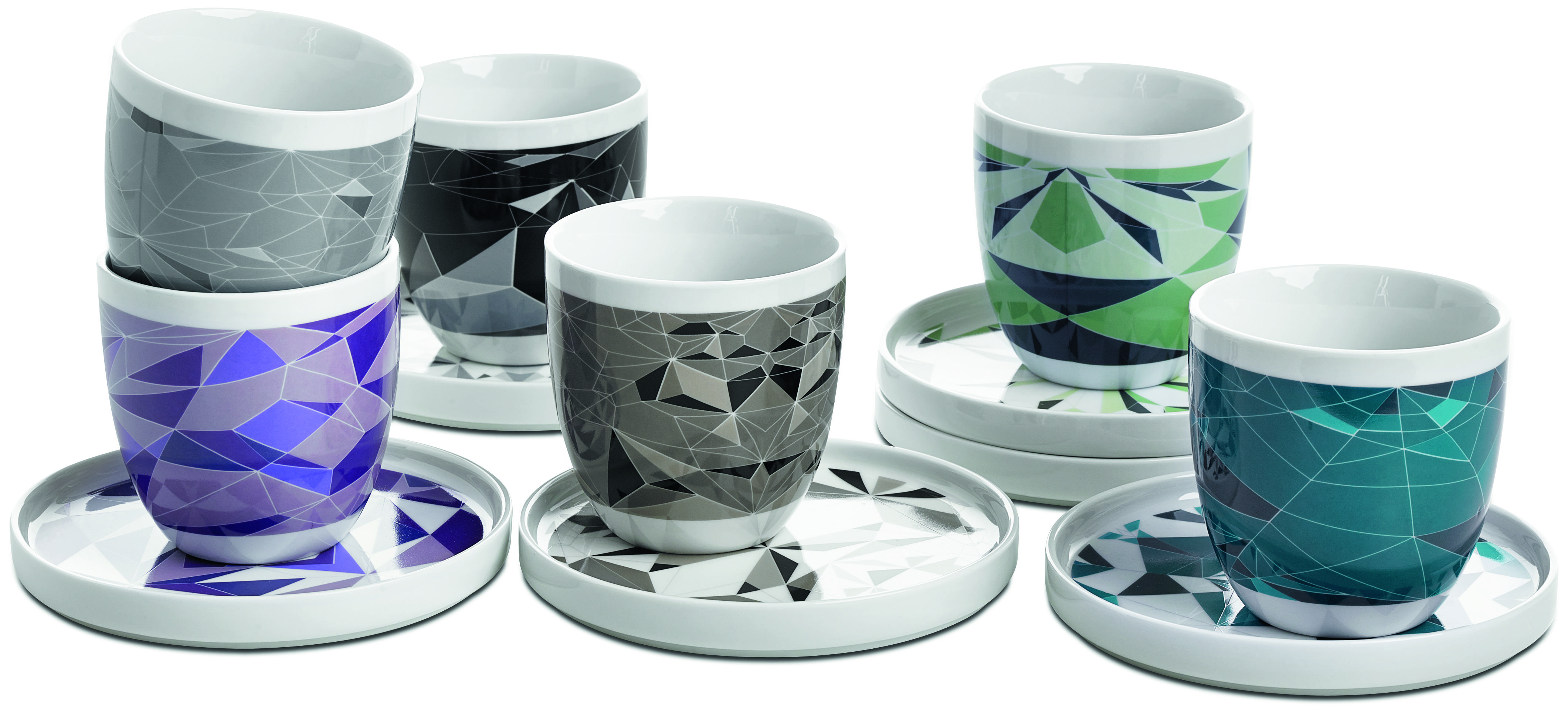 Fusion coffee cups