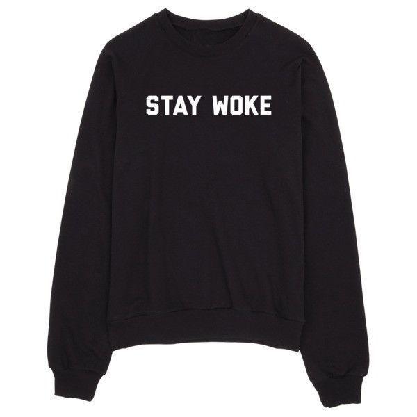 Stay Woke Women's... http://www.jakkoutthebxx.com/products/stay-woke-womens-casual-black-gray-pink-white-crewneck-sweatshirt?utm_campaign=social_autopilot&utm_source=pin&utm_medium=pin #fashionmodel  #model #fashiontrends #whatstrending  #ontrend #styleblog  #fashionmagazine #shopping