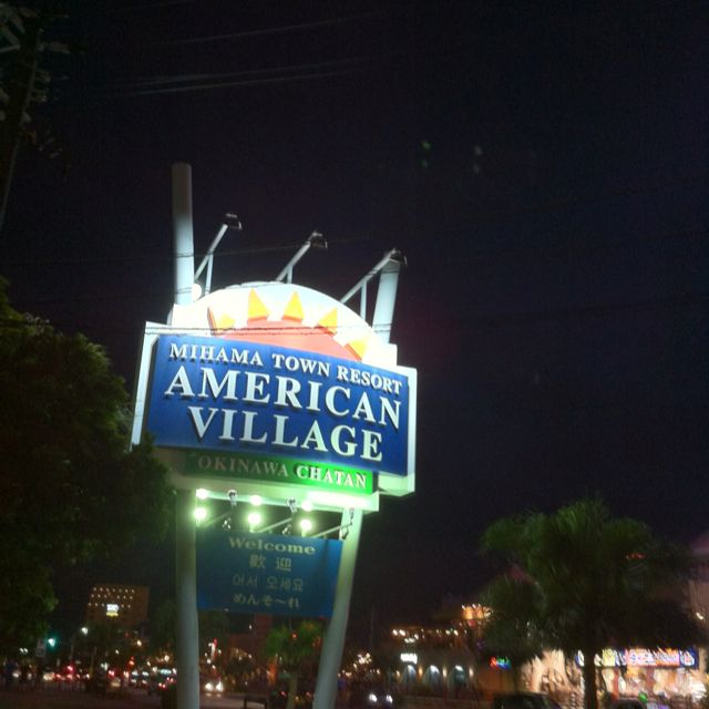 American Village Close To Kadena AB And Located Next To