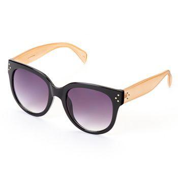 LC Lauren Conrad Cult of Cherry Retro Round Sunglasses