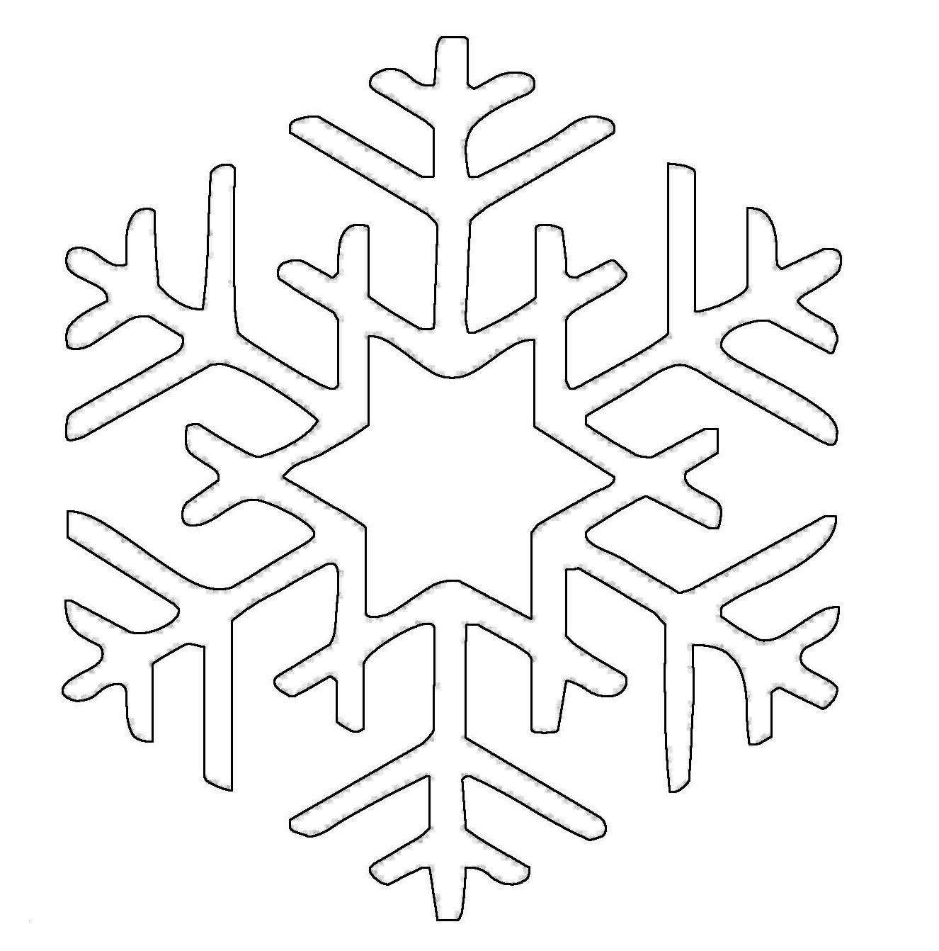 Ausmalbilder Schneeflocken Frisch Ausmalbild Schneeflocken Und