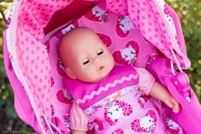 Puppenbettwäsche Für Puppenbett Oder Puppenwagen Selber Nähen