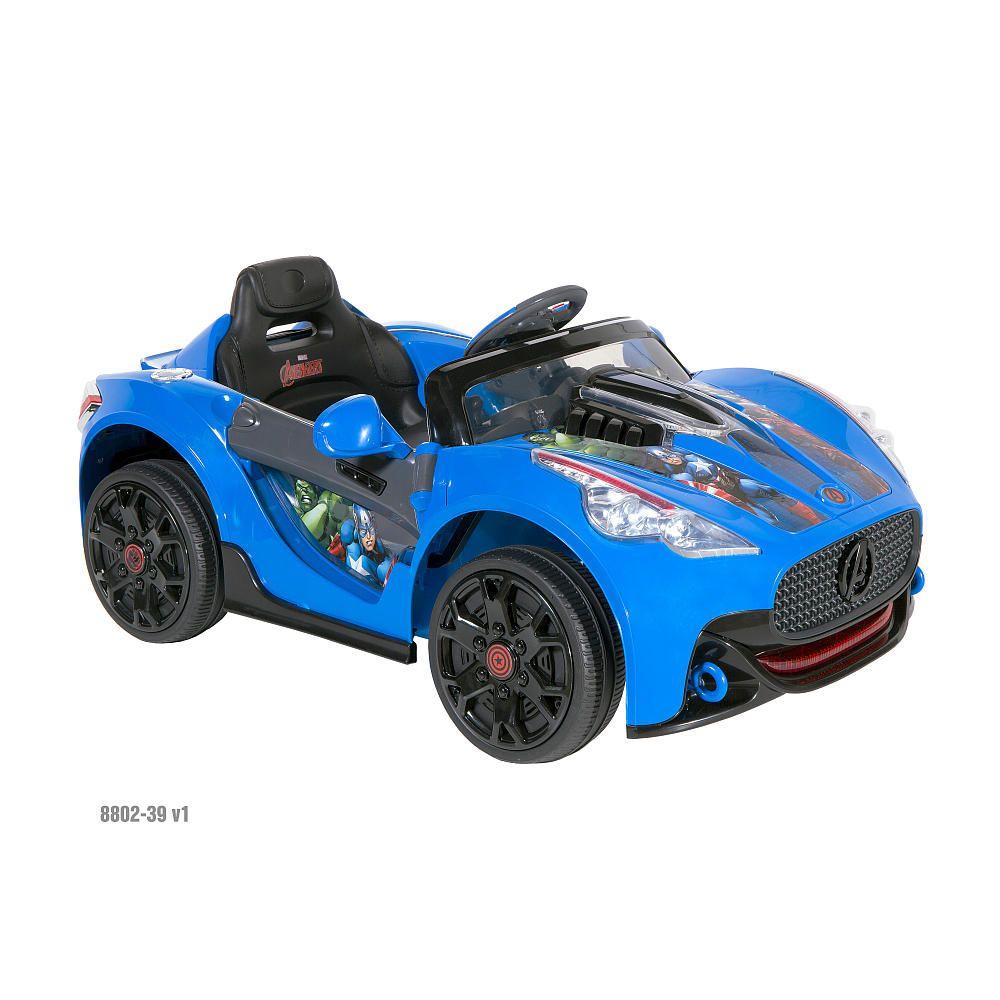 Avengers Super Car Volt Powered Ride On Dynacraft Toys R