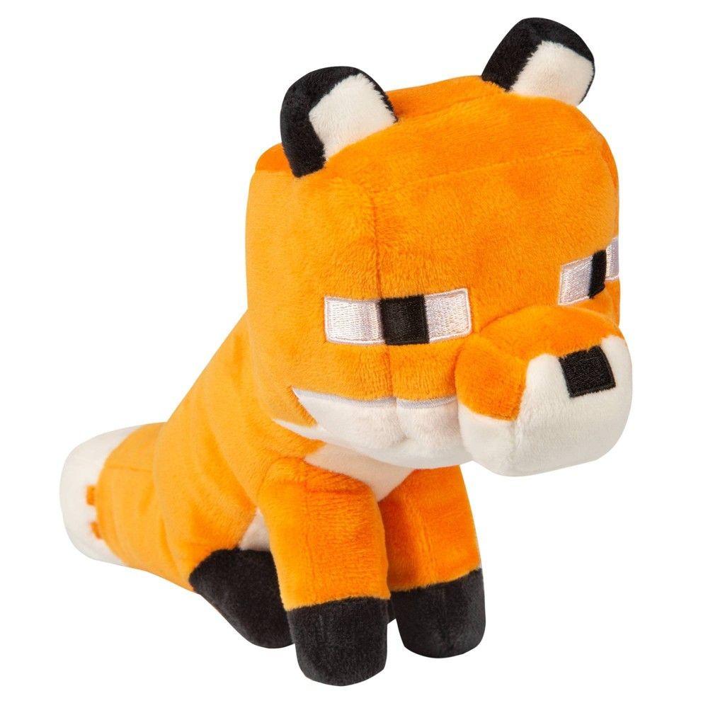 Minecraft Happy Explorer Fox Plush  Fox plush, Minecraft toys