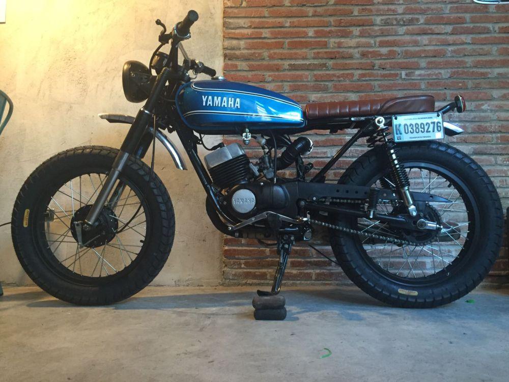 Yamaha RS100 Scrambler | Motorbike | Pinterest | Yamaha ...