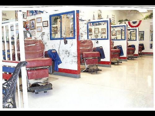 barbershop design ideas 1000 ide tentang barber shop interior di pinterest tukang cukur - Barbershop Design Ideas