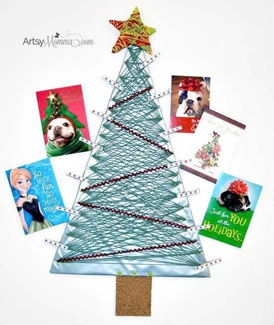 DIY Yarn Wrapped Christmas Tree Card Holder #diyyarnholder DIY Yarn Wrapped Christmas Tree Card Holder Tutorial #SendHallmark AD #diyyarnholder DIY Yarn Wrapped Christmas Tree Card Holder #diyyarnholder DIY Yarn Wrapped Christmas Tree Card Holder Tutorial #SendHallmark AD #diyyarnholder