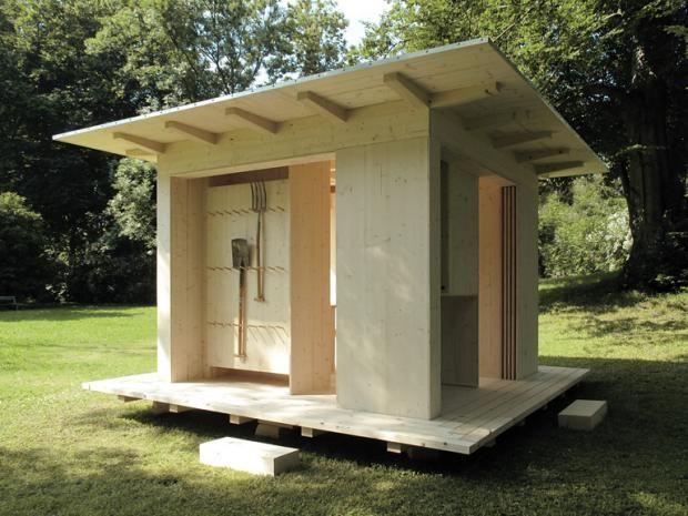DesignGartenhäuser fertig zu kaufen Guest house shed