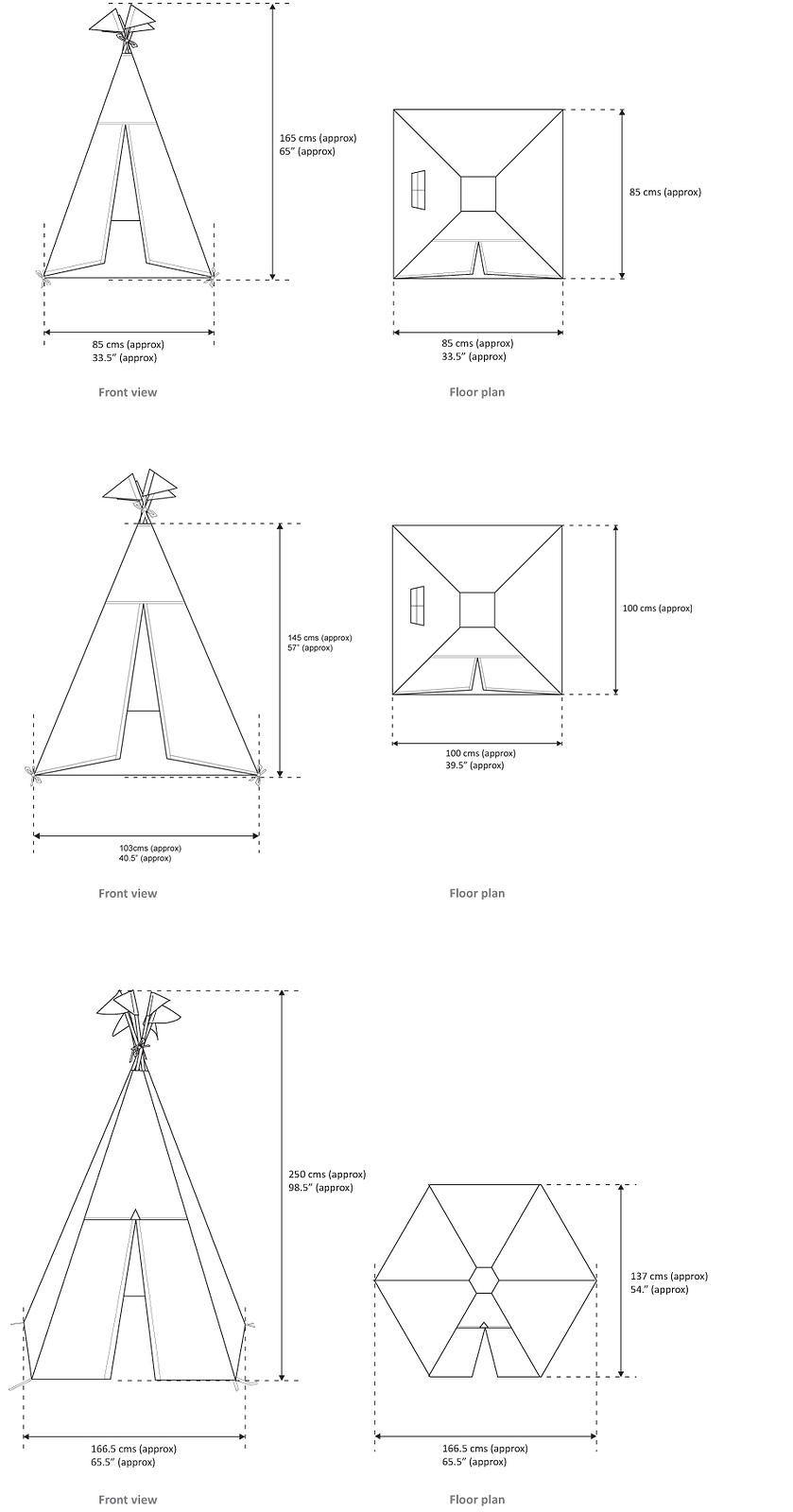 Fabulous Moozle Teepee Tents for kids | Sizing | Kid stuff | Pinterest  KG19