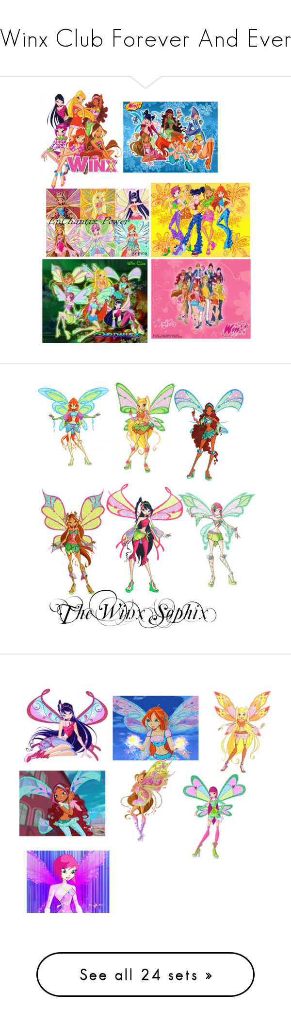 """""""Winx Club Forever And Ever"""" by fairytailxdragonslayer"""