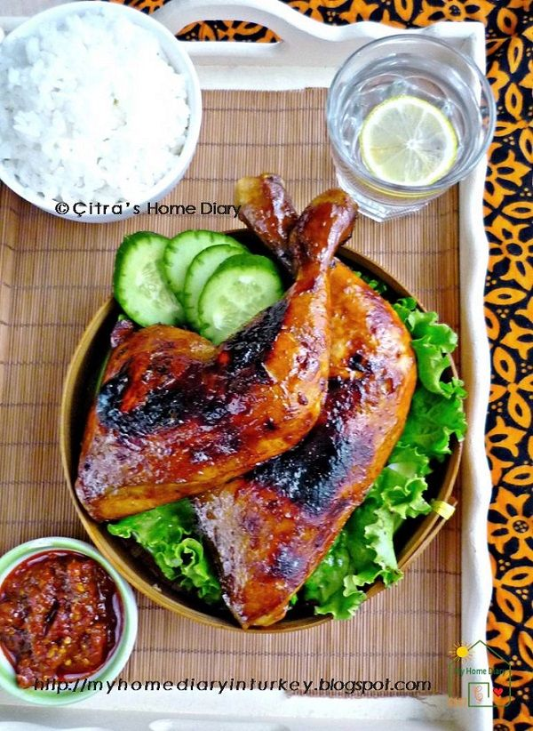 Resep Ayam Bakar Kecap Authentic Indonesian Sweet Soy Sauce Grilled Chicken In 2020 Baked Honey Garlic Chicken Sauce For Vegetables Poultry Recipes