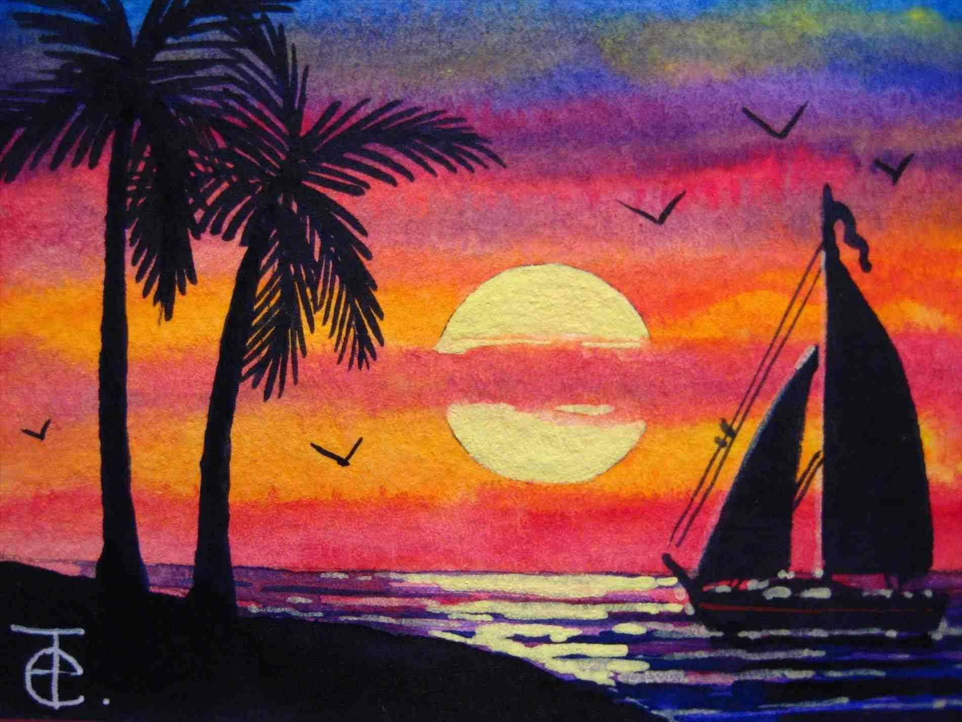 40 Easy Watercolor Painting Interesting Arts With Images