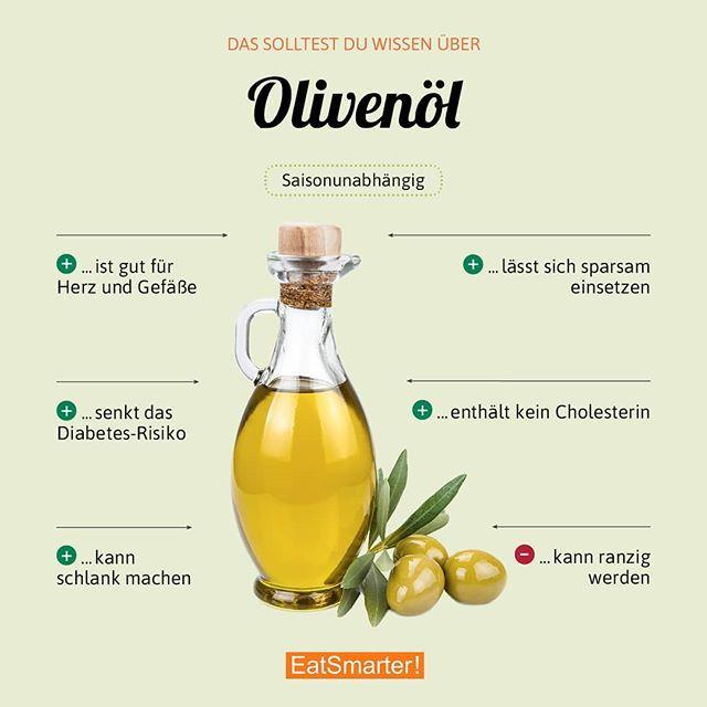 """EAT SMARTER on Instagram: """"Auf welches Öl schwört ihr?Welches Olivenöl laut Stiftung Warentest am besten ist, lest ihr hier: eatsmarter.de/ernaehrung/news/stiftung-…"""" #vitamins"""