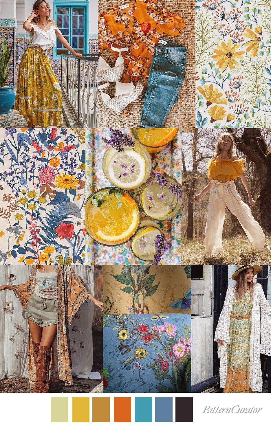Summer Solistice With Images Pattern Print Patterns Color Trends