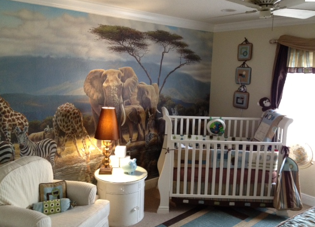 awesome baby room even though i don't have a baby!!!
