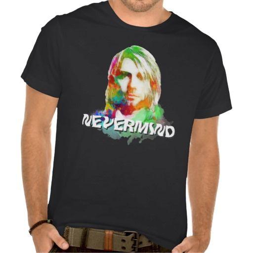 NEVERMIND/Colorful Kurt Donald Cobain T-SHIRT