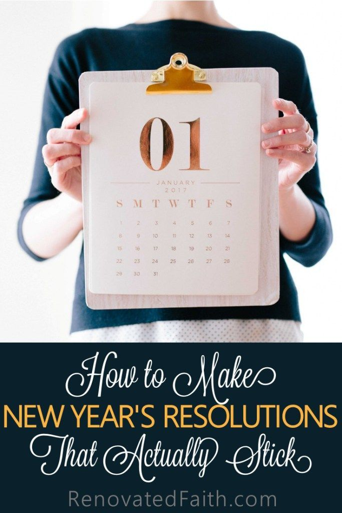 How many New Year�s resolutions inevitably crash and burn before Valentine�s Day?   Looking back over your past resolutions, how many were actually accomplished?  Whether our goals are fueled by guilt or even the best intentions, we often run out steam.