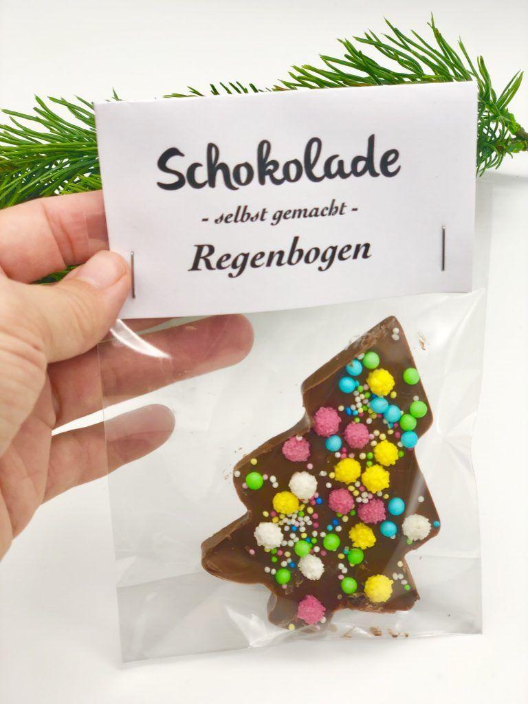 Schokolade schmelzen und verzieren - im Thermomix oder Wasserbad #weihnachtsmarktideenverkauf