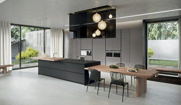 Cuisine moderne - belles idées pour votre espace par Arrital ...