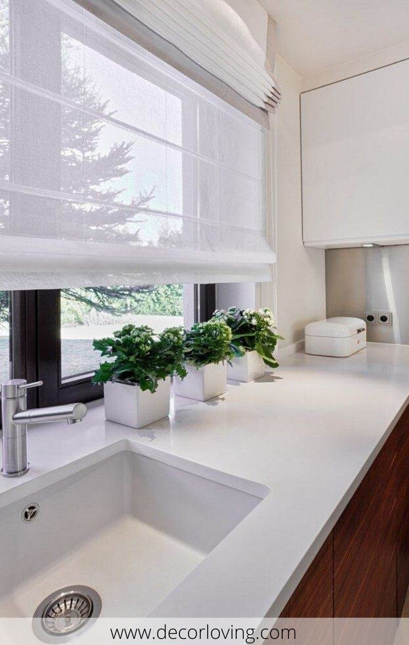 21 Kitchen Curtains Ideas To Dress Windows In A Modern Way