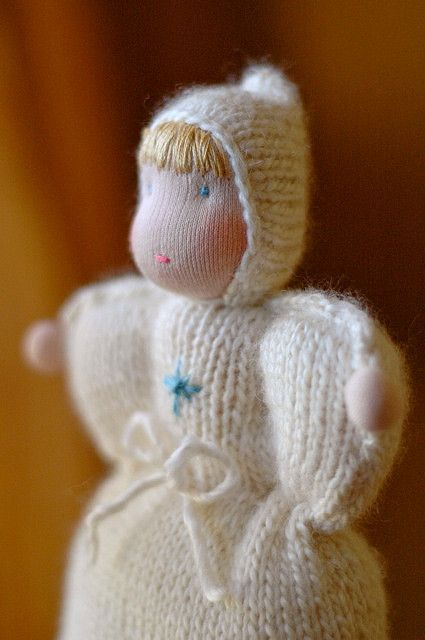 knitted doll :: snow | Pinterest | Patrones amigurumi, Muñecas y Bebe