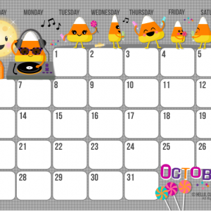 free calender download crafty ideas october calendar kids rh pinterest com