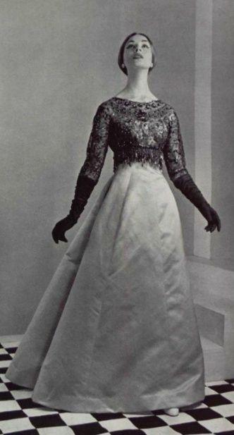 1956 - Balenciaga dress