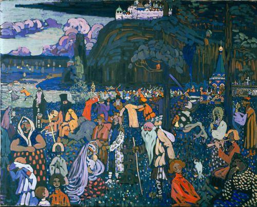 ambientclouds:    Das Bunte Leben - Wassily Kandinsky