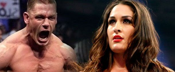 """In this preview clip of tomorrow's season finale of Total Divas, Nikki Bella mentions to John Cena that she is uncertain about signing her new WWE contract, which would extend her career for another three years. """"So what's the hold…"""