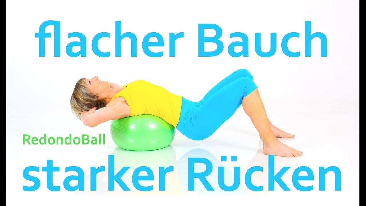 22 min. Workout mit dem Ball