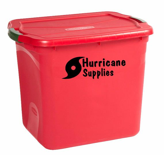 Hurricane supplies labels for hurricane hurricane container decals decal for storage  sc 1 st  Pinterest & Hurricane supplies labels for hurricane hurricane container ...