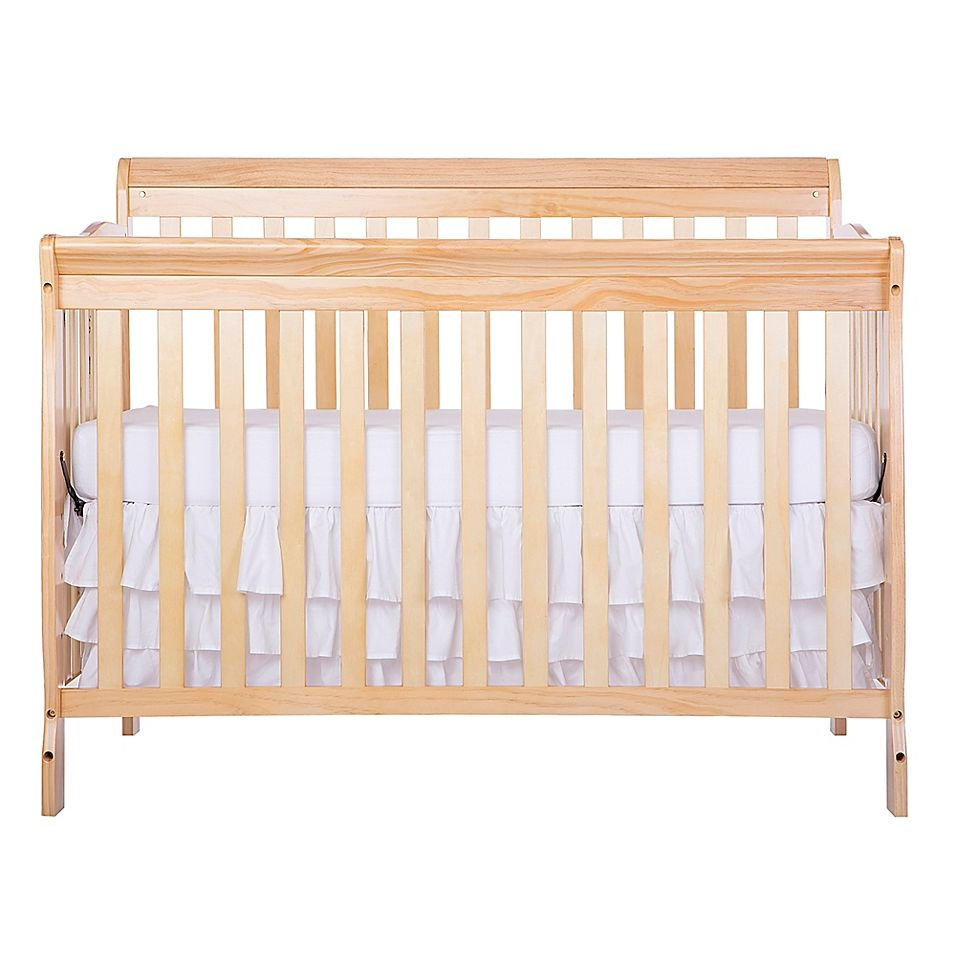 Dream On Me Ashton 5 In 1 Convertible Crib In Natural