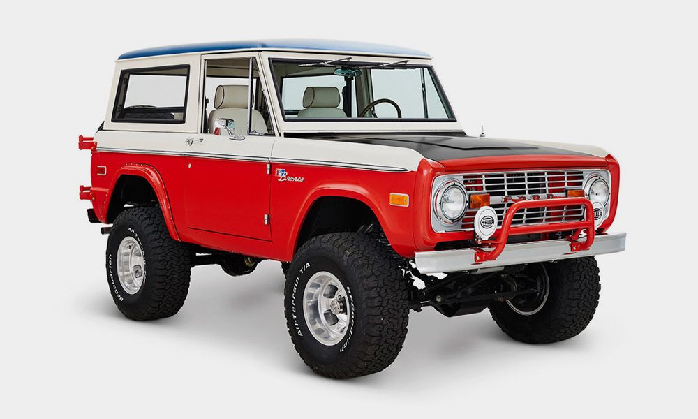 1975 Ford Bronco Stroppe Edition By Cfb Classic Ford Broncos