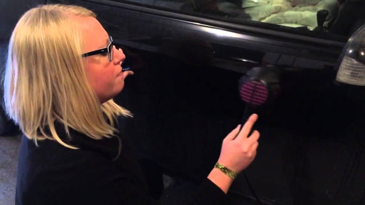 How to Remove Small Dents and Dings From Car Using A Hair