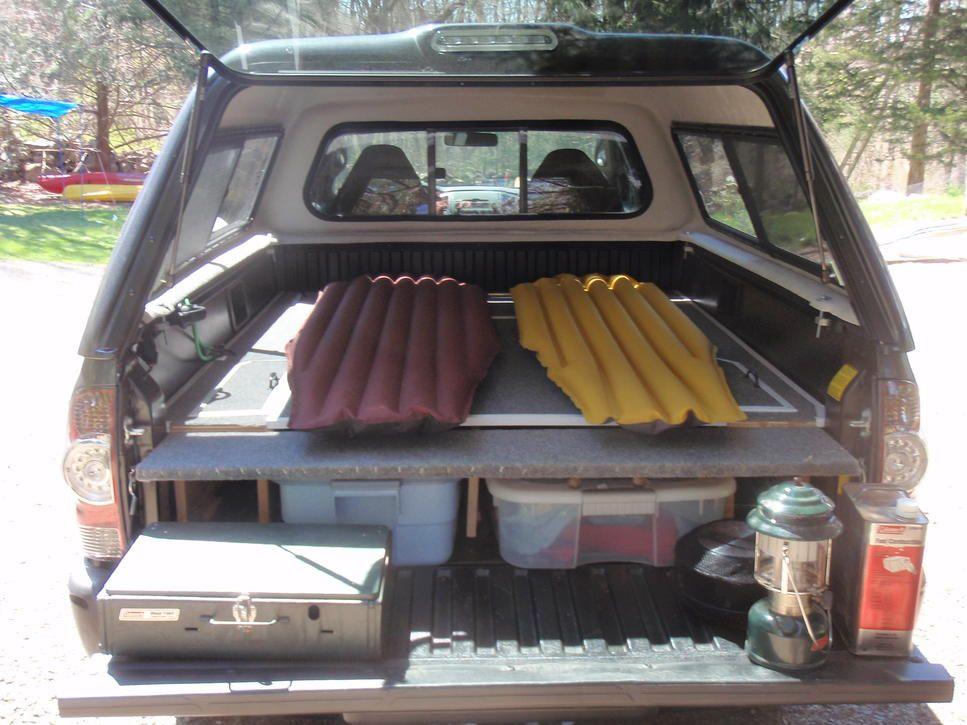 Truck Camper Living Google Search Toyota Tundra Stuff