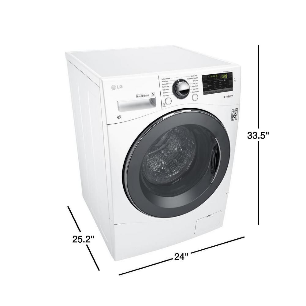 Washer Dryer Together Best Idea Ever Lg All In One Washer And Dryer 2 3 Cu Ft Wm3455hw Compact Washer And Dryer Washer And Dryer Washer Dryer Combo