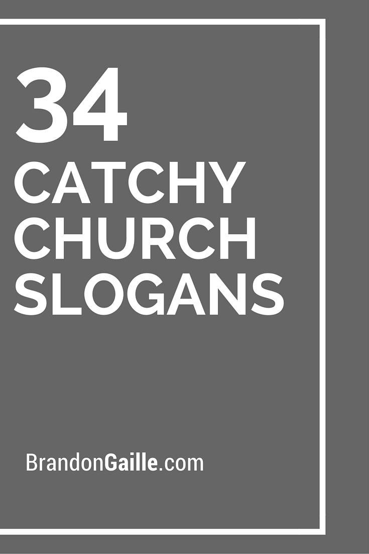 Catchy Church Slogans