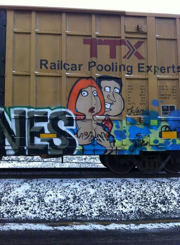 Pin by Out of the Box Models on Railroad Graffiti decal