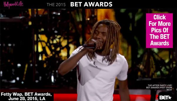 Fetty Wap Gets The Crowd Moving With Hot 'Trap Queen' Performance At 2015 BET Awards