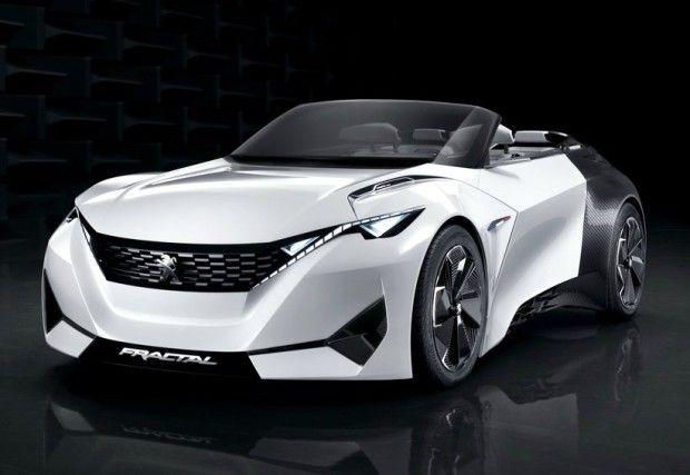 Peugeot Fractal Concept - Fornecido por Carplace