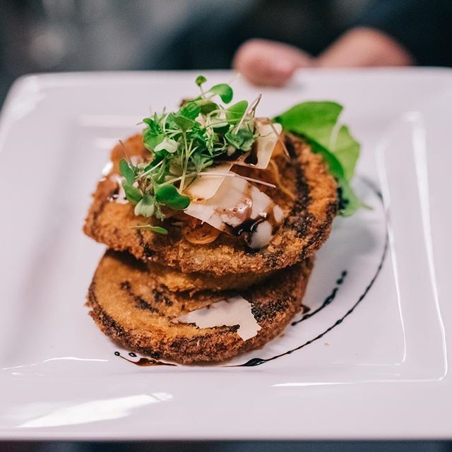 Eggplant parmesan? I do. #exploreinfinitenashville | Wedding Venue | Event Space | Nashville | Event Planner | Event Planning Business | Wedding Reception |