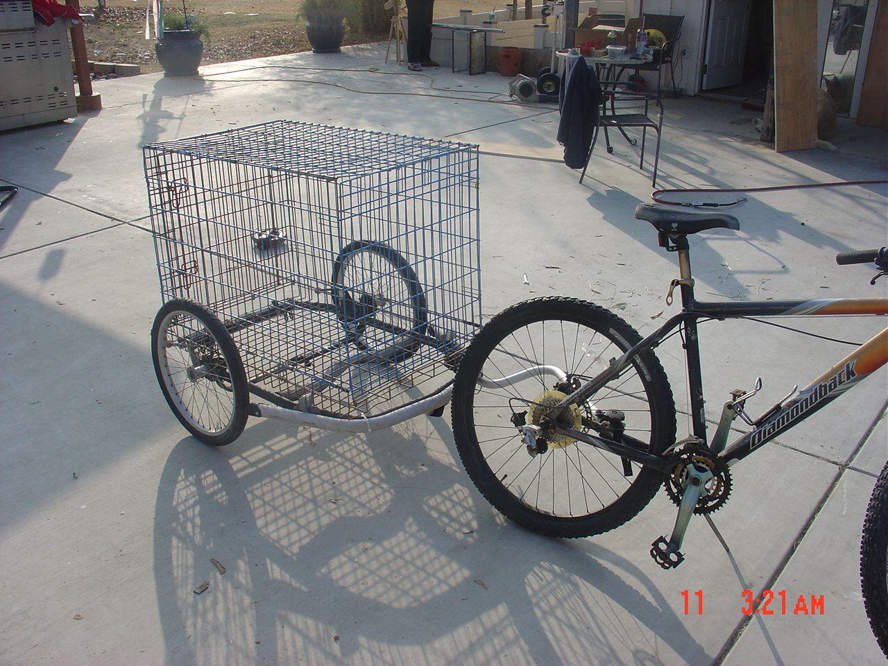 Kiddie Bike Trailer All Grown Up Dog Trailer Motorcycle