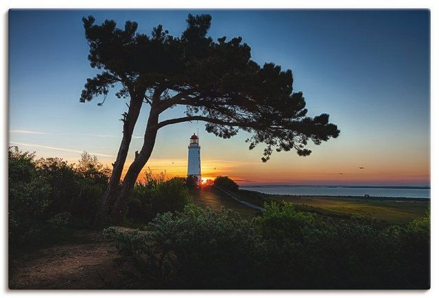 Photo of Canvas picture »B. Brugging: Sunrise on Hiddensee «