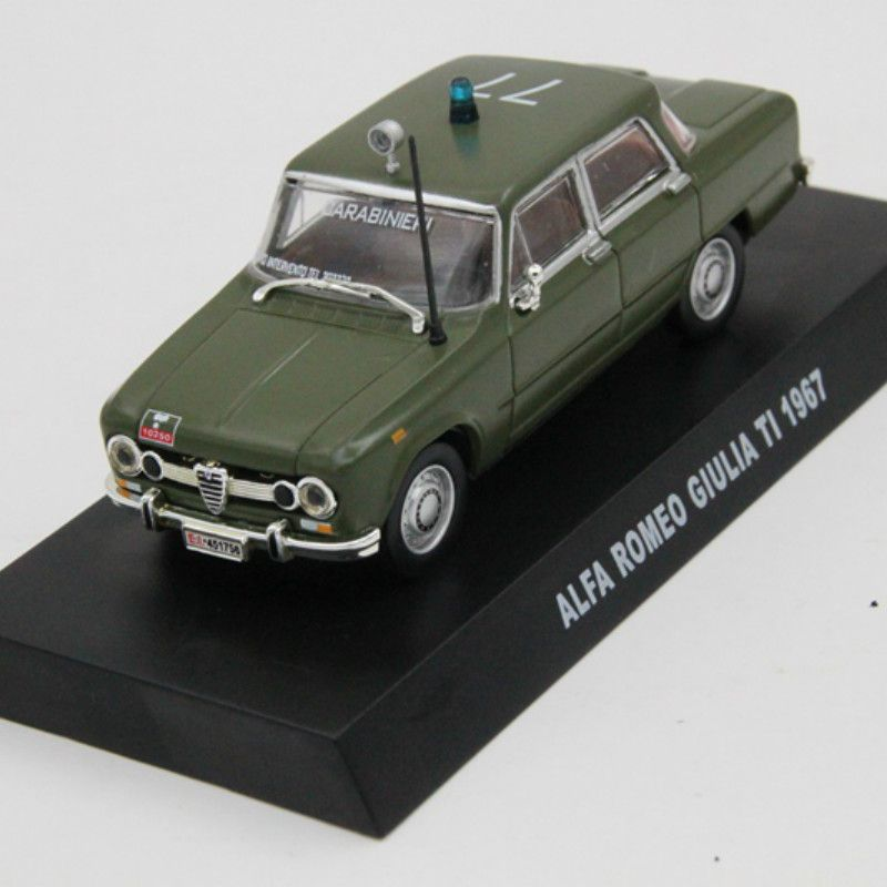 Click To Buy 1 43 Alfa Romeo Giulia Ti 1967 Police Cars Diecast Models Toys Hobbies Toys Collection Affiliate Police Cars Toy Collection Hobby Toys