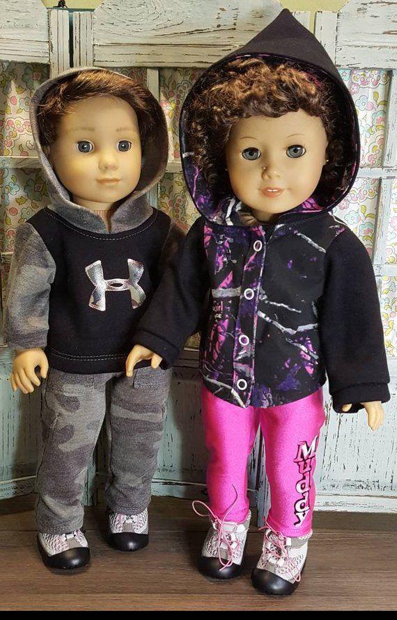 Camo outfits for 18inch dolls #boydollsincamo