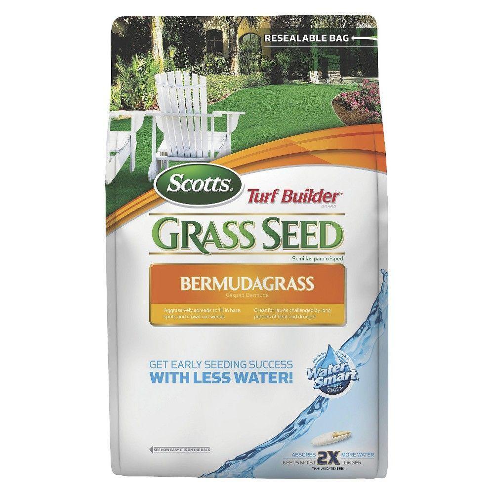 Scotts Turf Builder Grass Seed Bermudagrass 5lb Turf