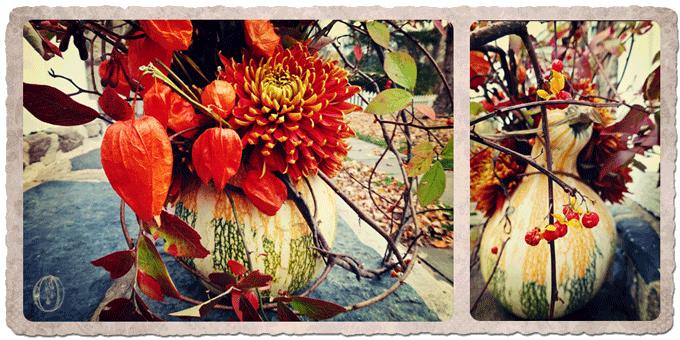 Fall-Orange-Branch-Gourd-Arrangement-Oleander-Bucks-County-PA-Wedding-Event-Florist