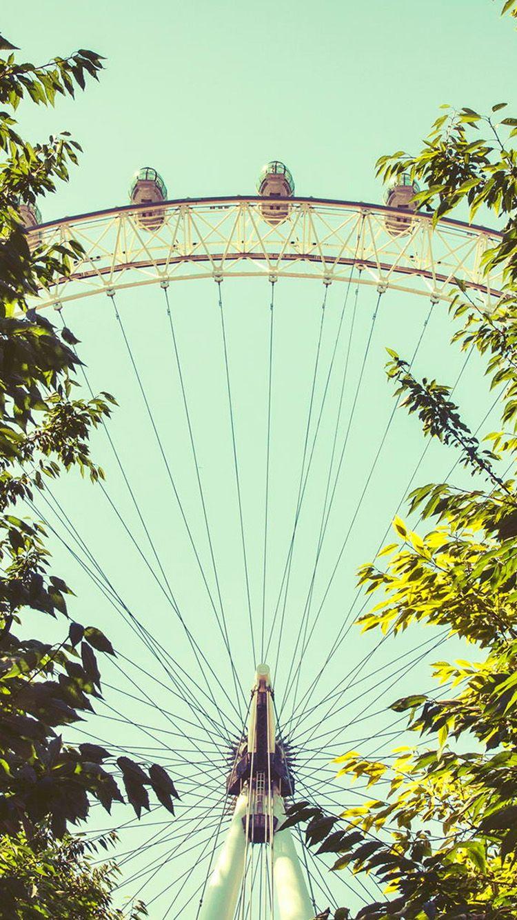 London Eye Iphone Wallpaper