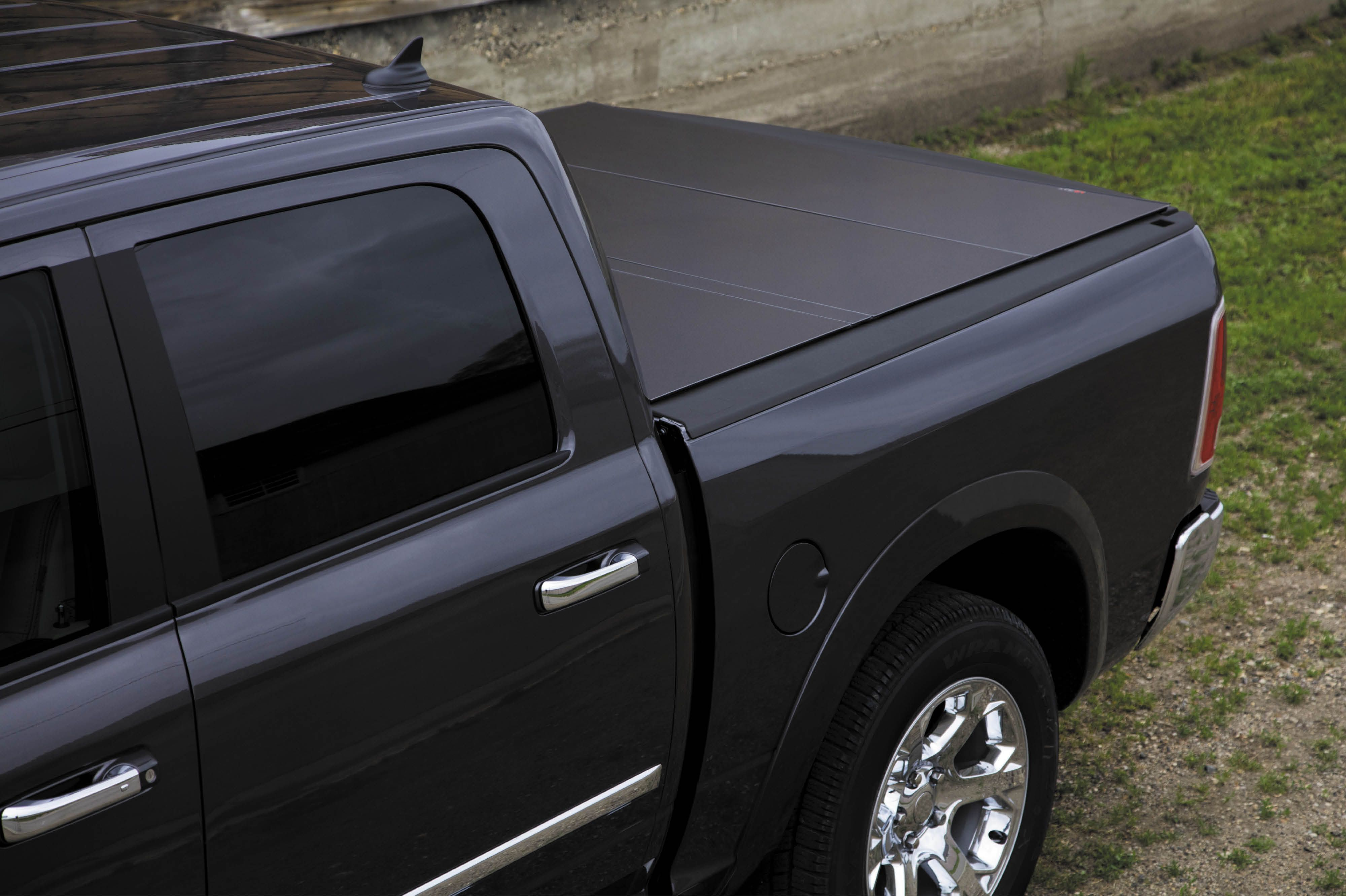 Perfect From All Angles Lomax Hard Tri Fold Cover Tonneau Cover Truck Bed Covers Hard Tonneau Cover