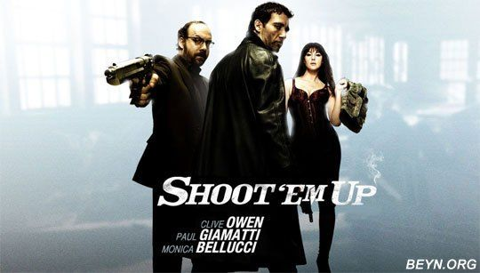 Shoot Em Up (2007) (Dual Audio) 720p | Hollywood action movies, Action movies, Hollywood